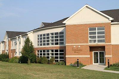 LBC's Peterson Hall dormitory.