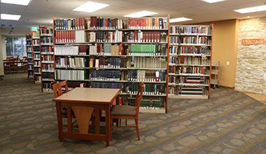 LBC Greenbelt campus library.