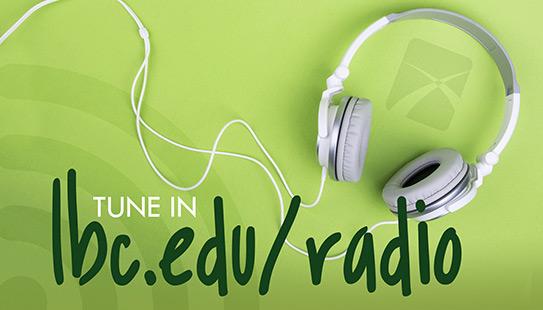 LBC radio program advertisement.