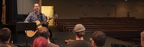 Worship arts students.