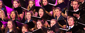 LBC choir performs a number