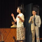 LBC students performing in a theatrical presentation.