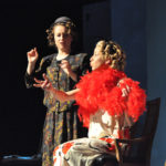 LBC students performing in a play.