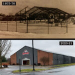 A look at the Horst Athletic Center 45 years apart!