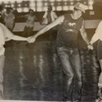 "Students from LBC held a ""beach party"" at a local roller skating rink during the 1985-86 academic year."