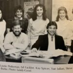 The 1986 Ichthus Staff is pictured, as this group put together one of the finer yearbooks in LBC history. The 1986 yearbook is stuffed with information, tremendous photos and truly captures what life was like on the campus of Lancaster Bible College.