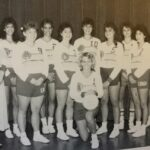 The 1987 LBC women's volleyball team won the first-ever NCCAA East Region Championship just one year after officially offering the sport.