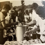 One of the events during the 1980-81 academic year was a corn roast. Students from across the campus enjoyed an outdoor dining event with corn featured in the main dishes.