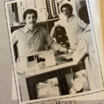 The 1986 yearbook also featured some of the jobs students held during the school year. Students Jim Culbertson ('88) and Mike Julian ('86) worked at Kelly One Hour Photofinishing, a photography store that would print photos and sell film for cameras.